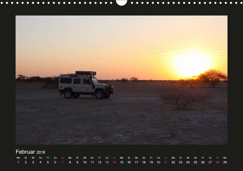 Land Rover Defender - Unterwegs in Afrika - CALVENDO